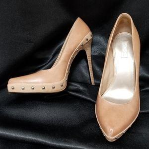 EUC Rachel Roy Genuine Leather Carlah Heels 7.5M